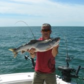 Keith Holding a Nice Laker!