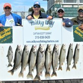 Lake Trout Limit for the Boys!