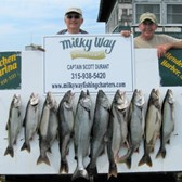 Larry and John with Lake Trout Limit Plus 2 King Salmon!