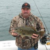 Terry with 6 Lb. Bass!