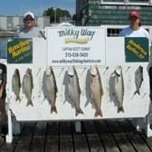 The Brett Hurlburt Family With Nice Catch