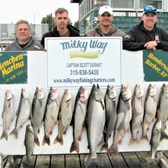 The Jeff Key Party With Laker Limit, 28 Lb. King & Brown!