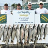 The Jeff Koons Party With Lake Trout Limit, 1 King & 1 Small Brown!
