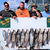 The Kyle Folk Charter With Lake Trout Limit & 1 Big King!