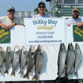 The Ron Duprey Party with Lake Trout Limit & 3 Kings!