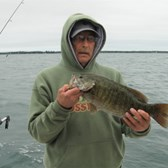 Tony Displaying His Big Bass!