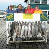 Henderson Harbor Fishing with Milky Way Charters - Another great day by Bill Sannan group