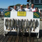 Henderson Harbor Fishing with Milky Way Charters - Beautiful catch!