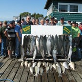 Henderson Harbor Fishing with Milky Way Charters - Corporate trip arranged for Afgritech
