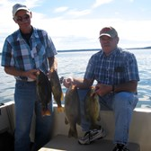 Henderson Harbor Fishing with Milky Way Charters - A couple of nice catches with Milky Way Charters!