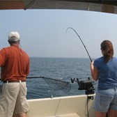 Henderson Harbor Fishing with Milky Way Charters - Great fishing on board the Milky Way!