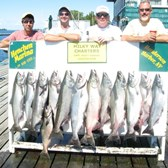 Henderson Harbor Fishing with Milky Way Charters - Limit of Kings!