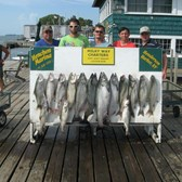 Henderson Harbor Fishing with Milky Way Charters - Paul Mast party - another great day of fishing!