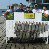 Henderson Harbor Fishing with Milky Way Charters - The Paul Mast party with a great day of fishing!