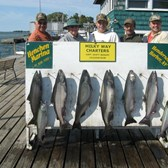Henderson Harbor Fishing with Milky Way Charters - Titus Mast - another great trip!