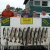 Henderson Harbor Fishing with Milky Way Charters - Paul Mast party with Laker Limit and prized King!