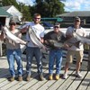 Henderson Harbor Fishing with Milky Way Charters - Lewis Co. Boys Showing Off Kings!