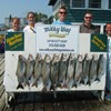 Henderson Harbor Fishing with Milky Way Charters - A Limit of Lake Trout with 1 King for the Zimmermans!