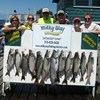Henderson Harbor Fishing with Milky Way Charters - The Matt Clark Party With 11 Lake Trout and 1 King!