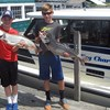 Henderson Harbor Fishing with Milky Way Charters - Andrew & Jackson Showing Off A Couple of Their Catch!
