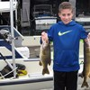 Henderson Harbor Fishing with Milky Way Charters - Johnny With Bass & Chain Pickerel!