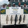 Henderson Harbor Fishing with Milky Way Charters - Paul Mast Party with Big King and 4 Trout