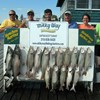 Henderson Harbor Fishing with Milky Way Charters - The Sherwin Wenger Party With 14 Trout and 2 Kings!