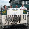 Henderson Harbor Fishing with Milky Way Charters - The Jeff Koons Party with 7 Lakers, 1 King & 2 Whitefish!
