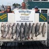 Henderson Harbor Fishing with Milky Way Charters - The Austin Family with 8 Lake Trout, 3 Kings & 1 Brown Trout!