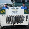 Henderson Harbor Fishing with Milky Way Charters - Matt and Don's catch from 3rd day!