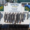 Henderson Harbor Fishing with Milky Way Charters - Matt and Don with 1st Day Catch!