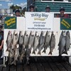 Henderson Harbor Fishing with Milky Way Charters - Paul & Dawn Widrick Family with 12 Lake Trout and 2 Kings!