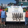 Henderson Harbor Fishing with Milky Way Charters - The Pete Nicklas Family With Lake Trout Catch!