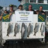 Henderson Harbor Fishing with Milky Way Charters - The Mark Albano Party With 5 Lakers & 1 King!