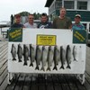 Henderson Harbor Fishing with Milky Way Charters - Lakers with Bonus Browns!