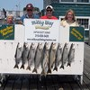 Henderson Harbor Fishing with Milky Way Charters - The King Party With Laker Limit!