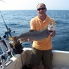 Henderson Harbor Fishing with Milky Way Charters - Leonard Showing Off Nice Laker!