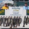 Henderson Harbor Fishing with Milky Way Charters - Matt and Don With Catch from Day 2!