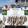 9 Lake Trout & 1 Coho for the Pete Hausser Party!