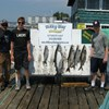 Backus Party with Lakers, Skipper and 22 Lb. King!