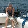 Becky With Her 19 Pound Lake Trout!