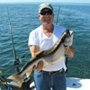 Bill, Sr. With His Big Lake Trout!