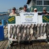 The Charles Stratton Party With Lake Trout Limit and 1 King!