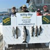 The Gould Charter with a King, Lake Trout, Whitefish & 3 Browns!
