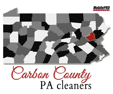 MobilePRO Cleaners - Providing Quality Mobile Dry Cleaning to Carbon County, Pennsylvania