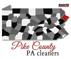 MobilePRO Cleaners - Providing Quality Mobile Dry Cleaning to Pike County, Pennsylvania