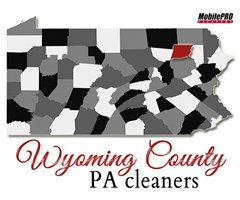 MobilePRO Cleaners - Providing Quality Mobile Dry Cleaning to Wyoming County, Pennsylvania