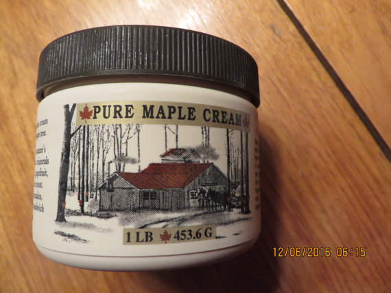 One Pound of New York Maple Cream