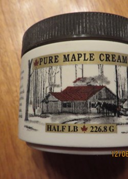 Half Pound of New York Maple Cream