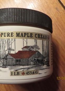 One Pound of New York Maple Cream
